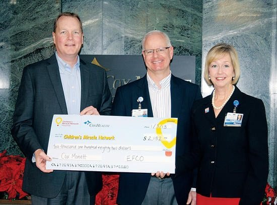 EFCO presents to Children's Miracle Network
